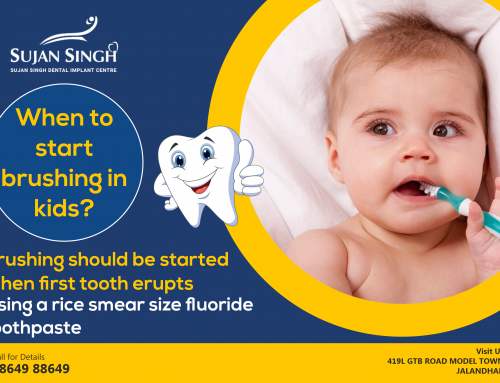 WHEN TO START BRUSHING YOUR BABY'S TEETH